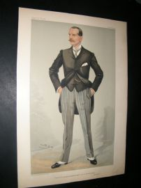 Vanity Fair Print 1904 W. H. Smith, Business